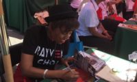 RAYVEN CHOI CAPTURES THE CROWD AT THE LEIMERT PARK BOOK FAIR